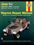 Jeep Cj 1949 Thru 1986: All Models