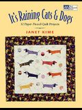 It's Raining Cats and Dogs: Paper-Pieced Quilts for Pet Lovers Print on Demand Edition