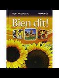 Bien Dit!: Student Edition Level 1a 2013