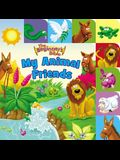 The Beginner's Bible My Animal Friends: A Point and Learn Tabbed Board Book