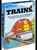 Trains [With Sticker(s) and Poster and Crayons and 3 Paperbacks]