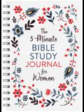 The 5-Minute Bible Study Journal for Women