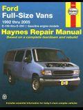 Ford Full-Size Vans 1992 thru 2005: E-150 thru E-350, All gasoline engine models