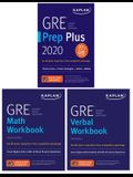 GRE Complete 2020: 3-Book Set: 6 Practice Tests + Proven Strategies + Online