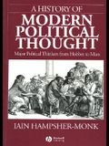 A History of Modern Political Thought: Major Political Thinkers from Hobbes to Marx