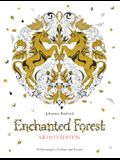 Enchanted Forest: 20 Drawings to Color and Frame