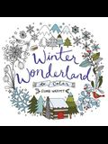 Winter Wonderland to Color: Coloring Book for Adults and Kids to Share