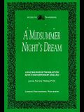 A Midsummer Night's Dream: A Facing-Pages Translation Into Contemporary English
