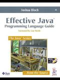 Effective Java: Programming Language Guide (Java Series)