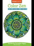Color Zen Coloring Book: Perfectly Portable Pages