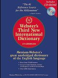 Webster's Third New International Dictionary of the English Language, Unabridged (Book & CD-ROM)