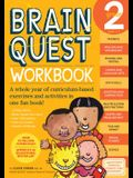 Brain Quest Workbook: Grade 2 [With Stickers]