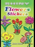 Shiny Flowers Stickers [With Stickers]