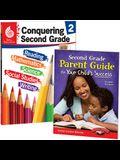 Conquering Second Grade Together: 2-Book Set