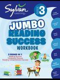 3rd Grade Jumbo Reading Success Workbook: 3 Books in 1--Spelling Success, Vocabulary Success, Reading Comprehension Success; Activities, Exercises & T