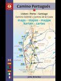 Camino Portugués Maps - Mapas - Mappe - Karten: Lisboa - Porto - Santiago