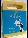 Diary of a Wimpy Kid: Audiobook Boxed Set: Diary of a Wimpy Kid, Rodrick Rules, the Last Straw, Dog Days, the Ugly Truth, Cabin Fever
