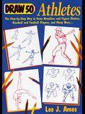 Draw 50 Athletes (Turtleback School & Library Binding Edition)
