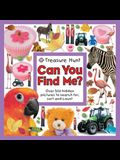 Treasure Hunt Can You Find Me? (Seek and Find Book)