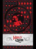 Harley Quinn Hardcover Ruled Journal