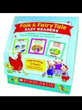 Folk & Fairy Tale Easy Readers: A Collection of Classic Stories That Are just-Right for Young Learners [With Easy Reader Books and Teaching Guide]