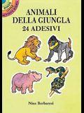 Animali Della Giungla: 24 Adesivi