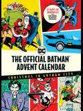 The Official Batman(tm) Advent Calendar: Christmas in Gotham City: 25 Days of Surprises with Mini Books, Mementos, and More! (Batman Books, Fun Holida