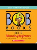 Bob Books - Advancing Beginners Box Set Phonics, Ages 4 and Up, Kindergarten (Stage 2: Emerging Reader): 8 Books for Young Readers