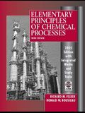 Elementary Principles of Chemical Processes, 3rd Edition 2005 Edition Integrated Media and Study Tools, with Student Workbook