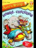 Mile 1:  Animal Crackers (Road to Writing)