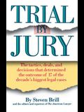 Trial by Jury: The Tactics, Deals, and Decisions That Determined the Outcome of 17 of the Decade's Biggest Legal Cases