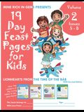 19 Day Feast Pages for Kids Volume 2 / Book 2: Early Bahá'í History - Lionhearts from the Time of the Báb (Issues 5 - 8)