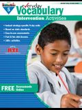 Everyday Vocabulary Intervention Activities for Grade 5 Teacher Resource
