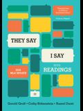They Say / I Say: The Moves That Matter in Academic Writing, with 2016 MLA Update and Readings (Third Edition)