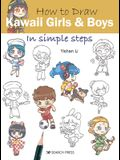 How to Draw Kawaii Girls and Boys in Simple Steps