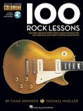 100 Rock Lessons [With Access Code]