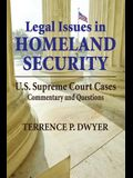 Legal Issues in Homeland Security