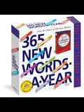 365 New Words-A-Year Page-A-Day Calendar 2022: For Students, Writers, Crossword Fanatic's and Lover's of Language.