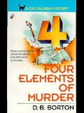 Four Elements of Murder (A Cat Caliban mystery)
