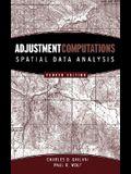 Adjustment Computations: Spatial Data Analysis [With CDROM]