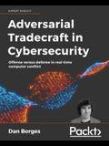 Adversarial Tradecraft in Cybersecurity: Offense versus defense in real-time computer conflict