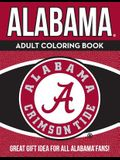 Alabama Adult Coloring Book: A Colorful Way to Cheer on Your Team!