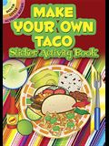 Make Your Own Taco Sticker Activity Book