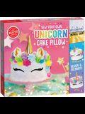 Sew Your Own Unicorn Cake Pill
