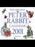 2001 Calendar Peter Rabbit [With 40 Full-Color Stickers]