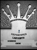 Herausforderndes geformtes Labyrinth Schwieriger Ebene: Spaß und entspannende Tiere-förmigen Labyrinthe Taschenbuch 8,5 * 11 Zoll.