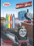 Heroes of Sodor (Thomas & Friends) (Color Plus Chunky Crayons)