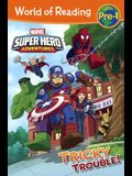 Super Hero Adventures: Tricky Trouble!