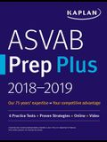 ASVAB Prep Plus 2018-2019: 6 Practice Tests + Proven Strategies + Online + Video