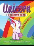 Unicorn Coloring Book: Fantasy Adult Coloring Book